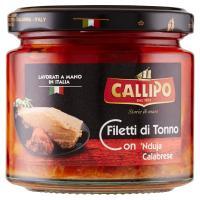 Callipo Filetti di Tonno con 'Nduja Calabrese all'olio di oliva