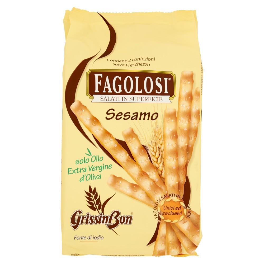 GrissinBon Fagolosi con Semi di Sesamo