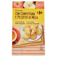 Carrefour Ore 8 Biscotti con pezzetti di Mela