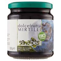 sanabios dolcefrutta Mirtilli