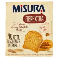 Misura Fibrextra 40 Fette biscottate integrali