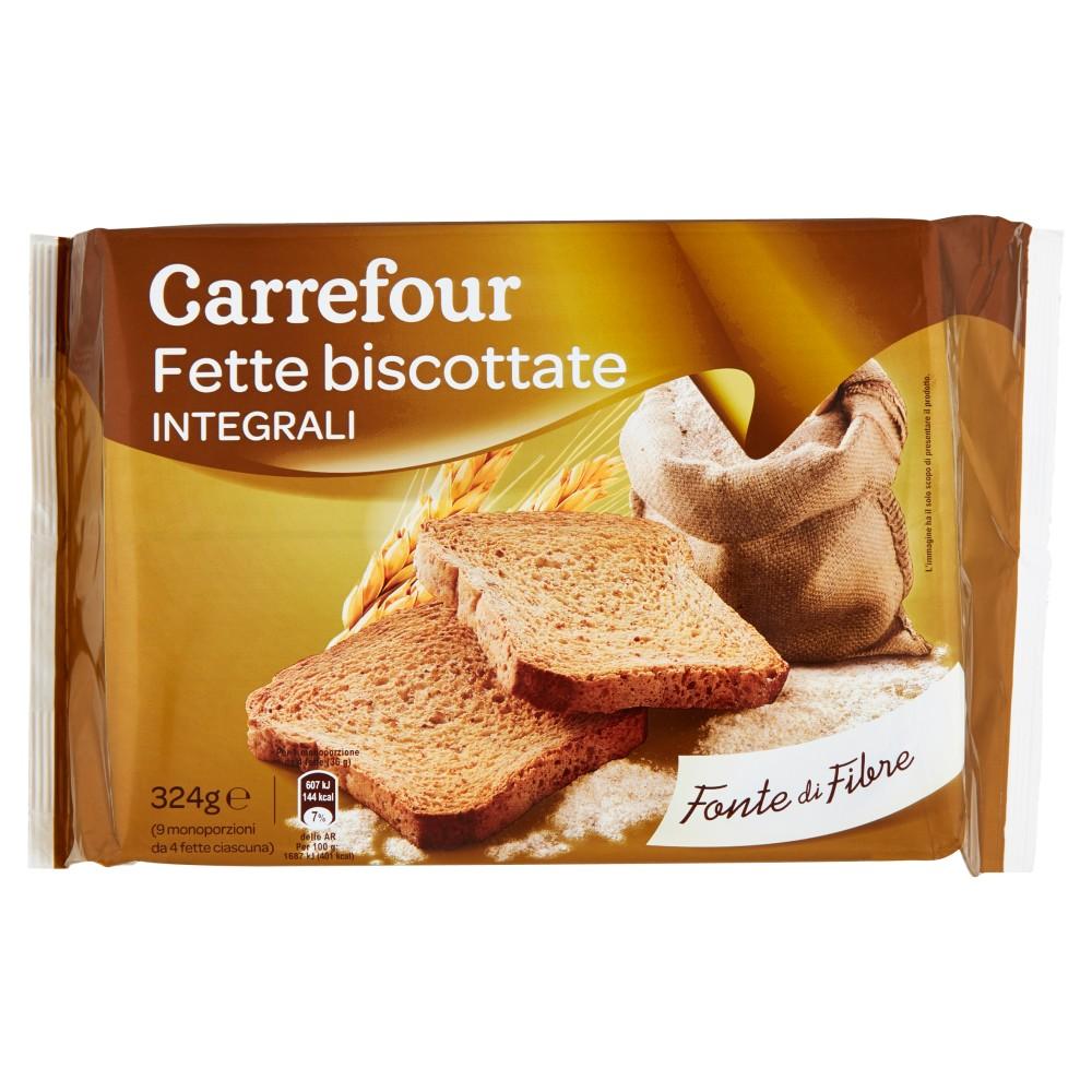 Carrefour Fette biscottate Integrali