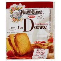 Mulino Bianco Le Dorate Fette Biscottate