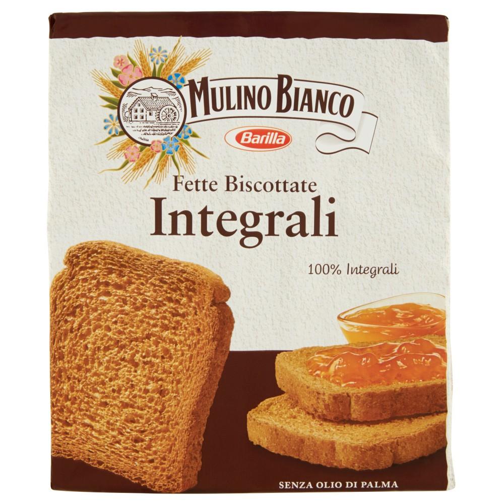 Mulino Bianco Le Integrali Fette Biscottate