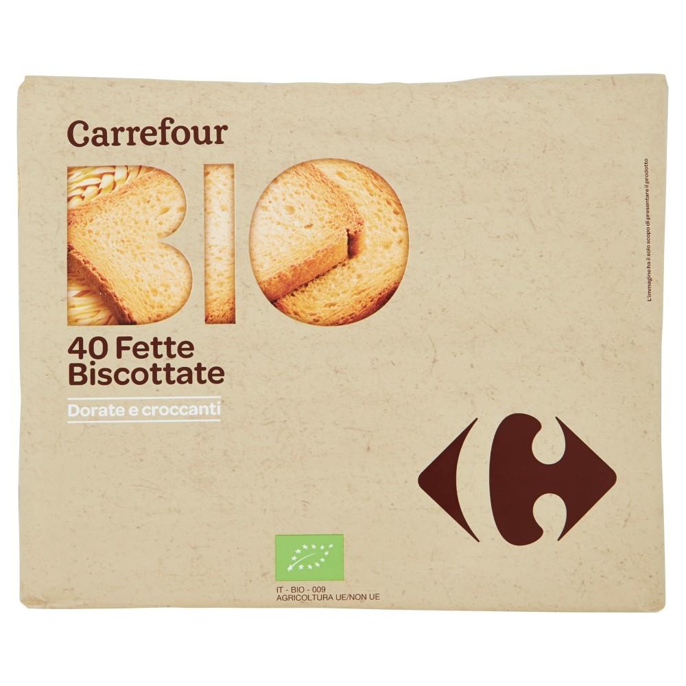 Carrefour Bio 40 Fette Biscottate