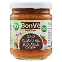 BonVé Sugo Vegano alla Boscaiola con Seitan