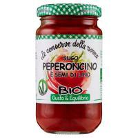 Le conserve della nonna Gusto & Equilibrio Sugo Peperoncino e Semi di Lino Bio