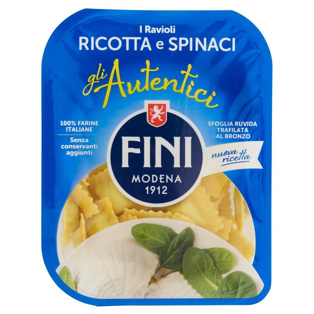 Fini gli Autentici Ravioli ricotta e spinaci