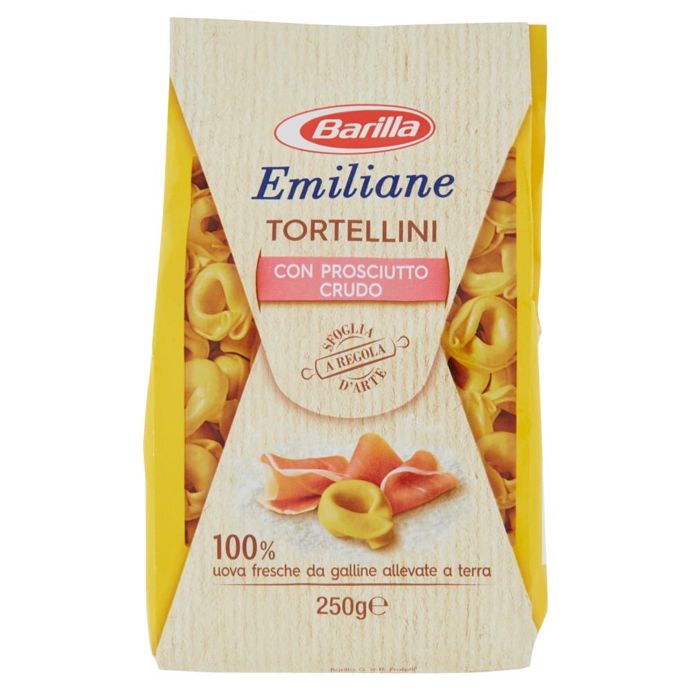 Barilla Emiliane Tortellini con Prosciutto Crudo