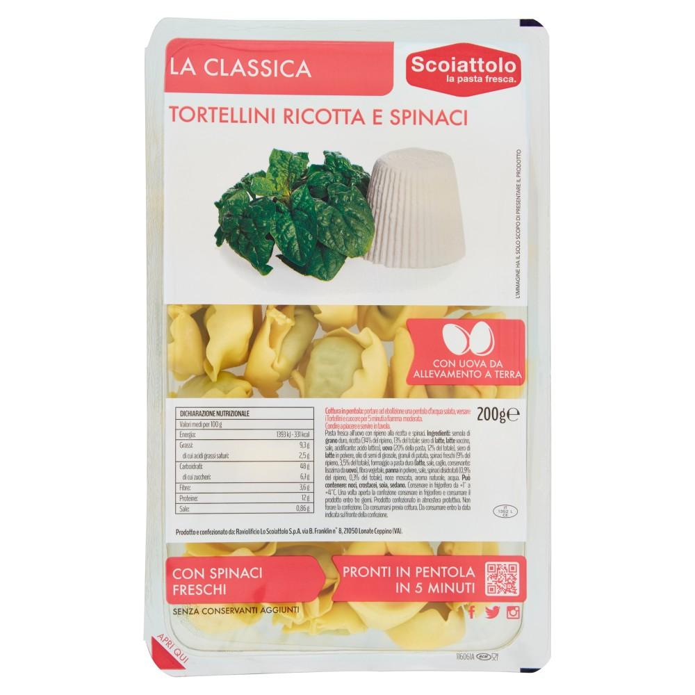 Scoiattolo La Classica Tortellini Ricotta e Spinaci