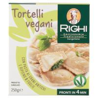 Righi Tortelli vegani con Pasta ai Grani Antichi e Ripieno 8 Foglie