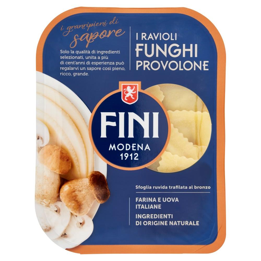 Fini i granripieni di sapore i Ravioli Funghi Provolone