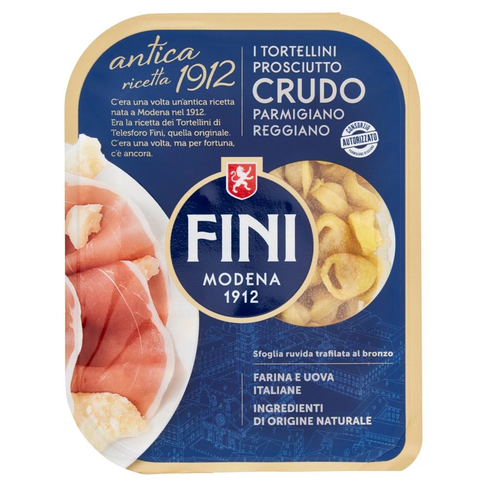 Fini antica ricetta 1912 i Tortellini Prosciutto Crudo Parmigiano Reggiano