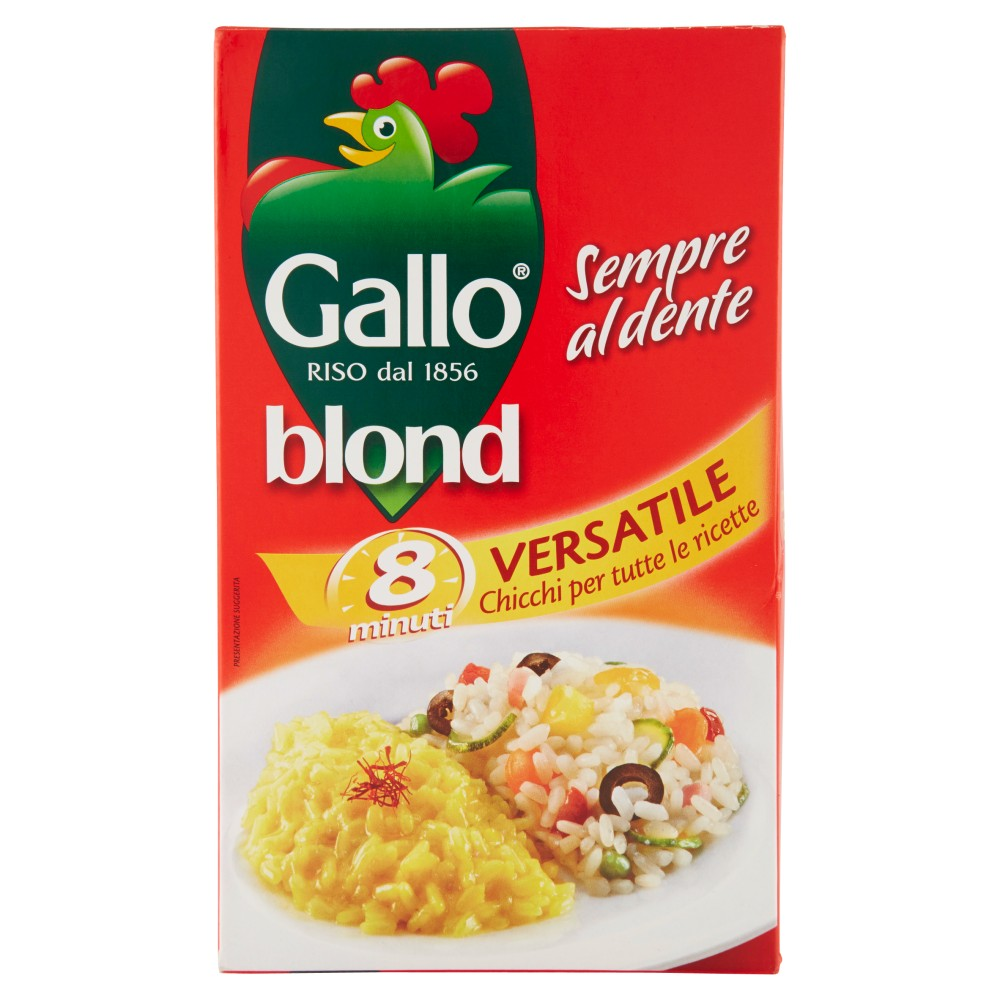 Gallo blond Versatile 8 minuti