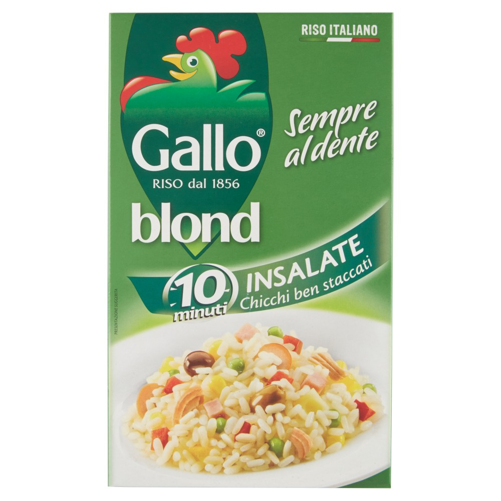 Gallo blond Insalate 10 minuti
