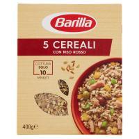 Barilla 5 Cereali con Riso Rosso