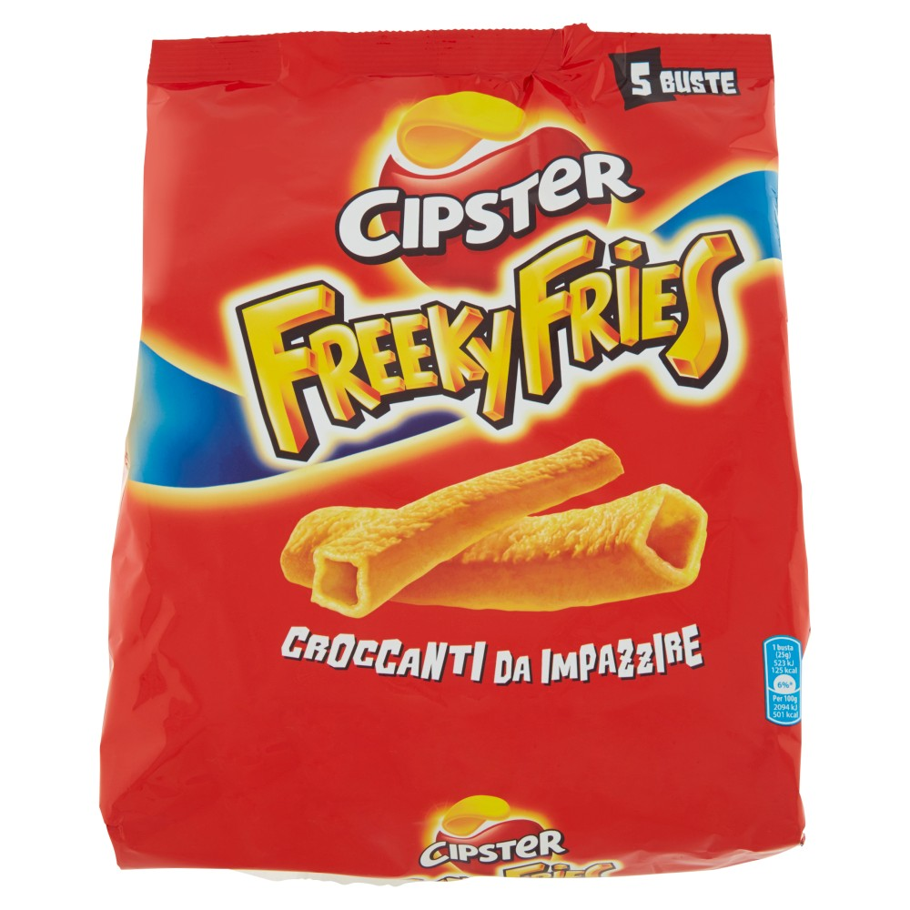 Cipster freeky fries 5 buste