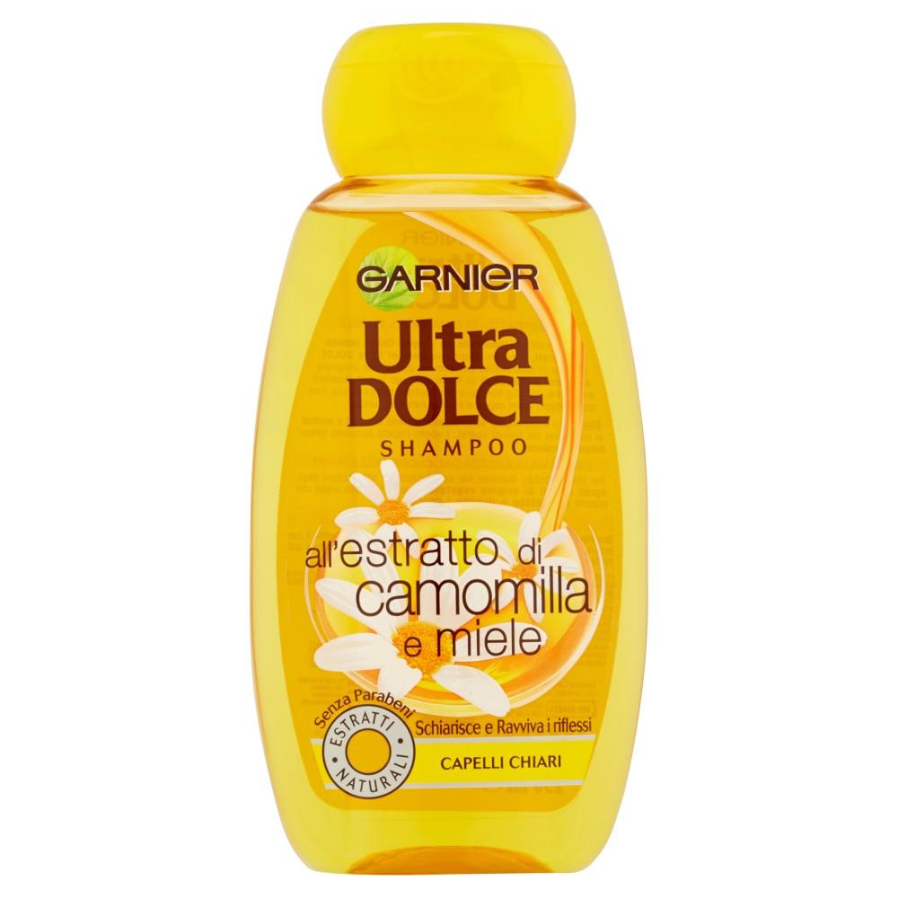 Garnier Ultra Dolce Shampoo all'estratto di camomilla e miele capelli chiari