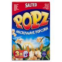 Popz Microwave popcorn salted