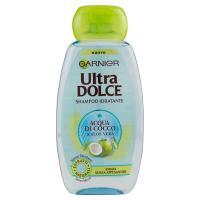 Garnier Ultra Dolce Acqua di Cocco e Aloe Vera - Shampoo Idratante per capelli secchi