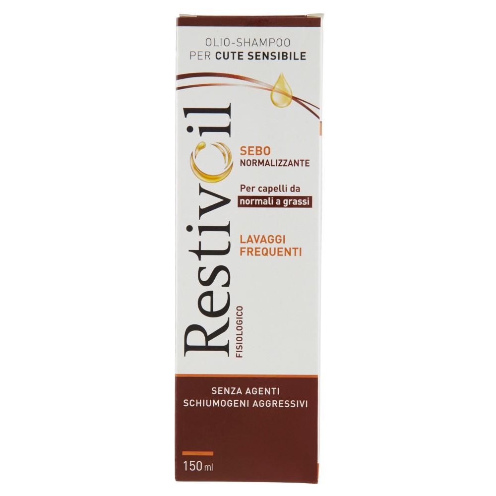RestivOil Fisiologico Olio-shampoo per cute sensibile per capelli da normali a grassi