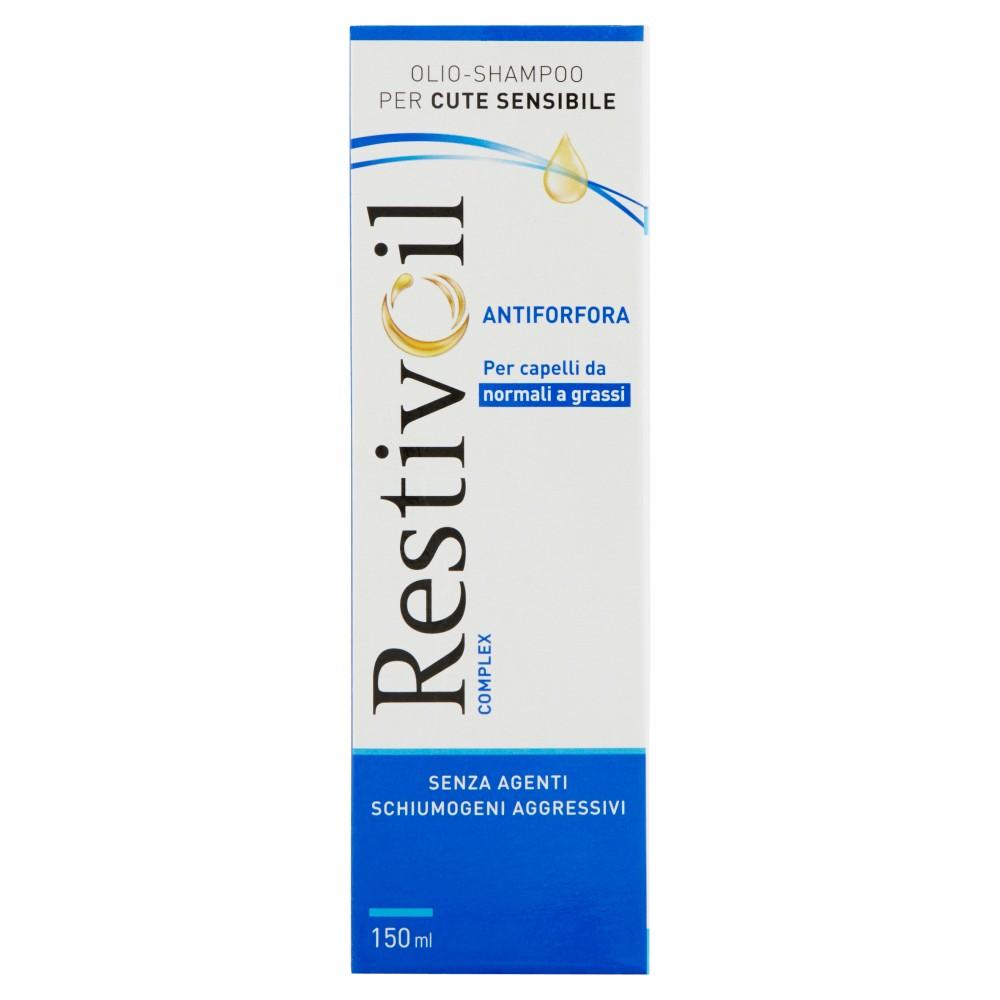 RestivOil Complex Olio-shampoo per cute sensibile per capelli con forfora