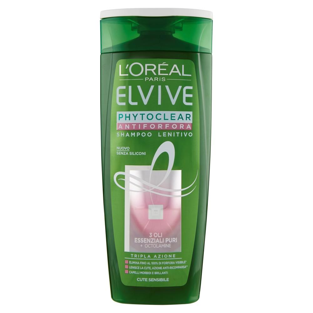 L'Oréal Paris Elvive Phytoclear - Shampoo antiforfora lenitivo per cute sensibile