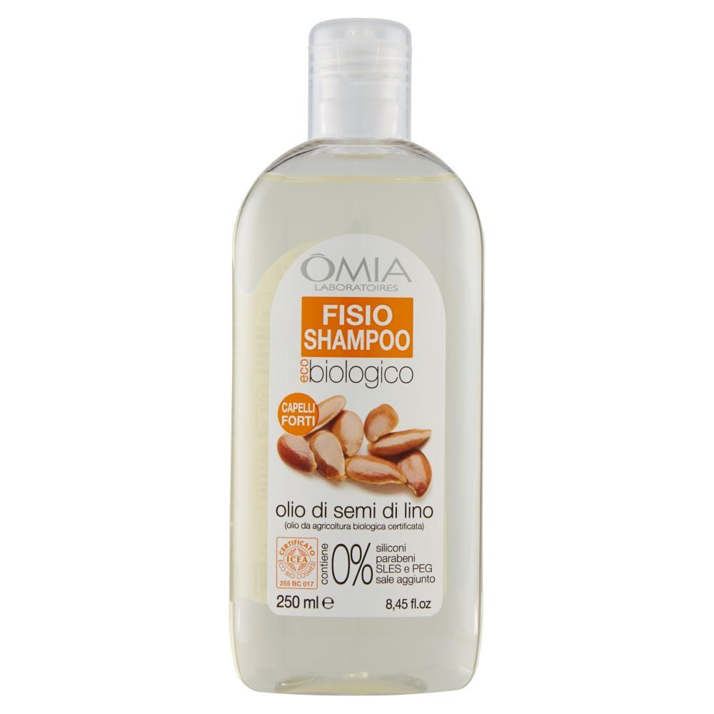 Omia Laboratoires eco biologico Fisio Shampoo olio di semi di lino |  Bellezza e cura della persona | Prezzo Coop, Pam