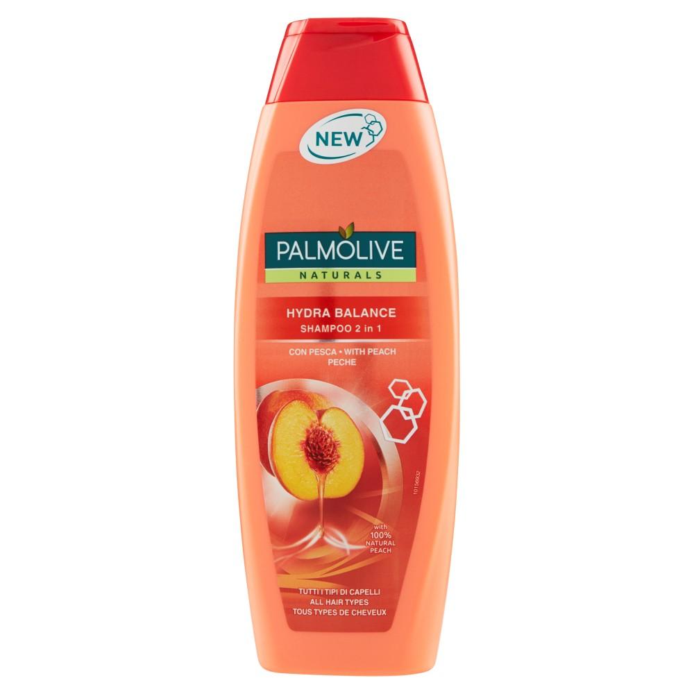Palmolive Naturals Hydra Balance Shampoo 2 in 1 Tutti i Tipi di Capelli