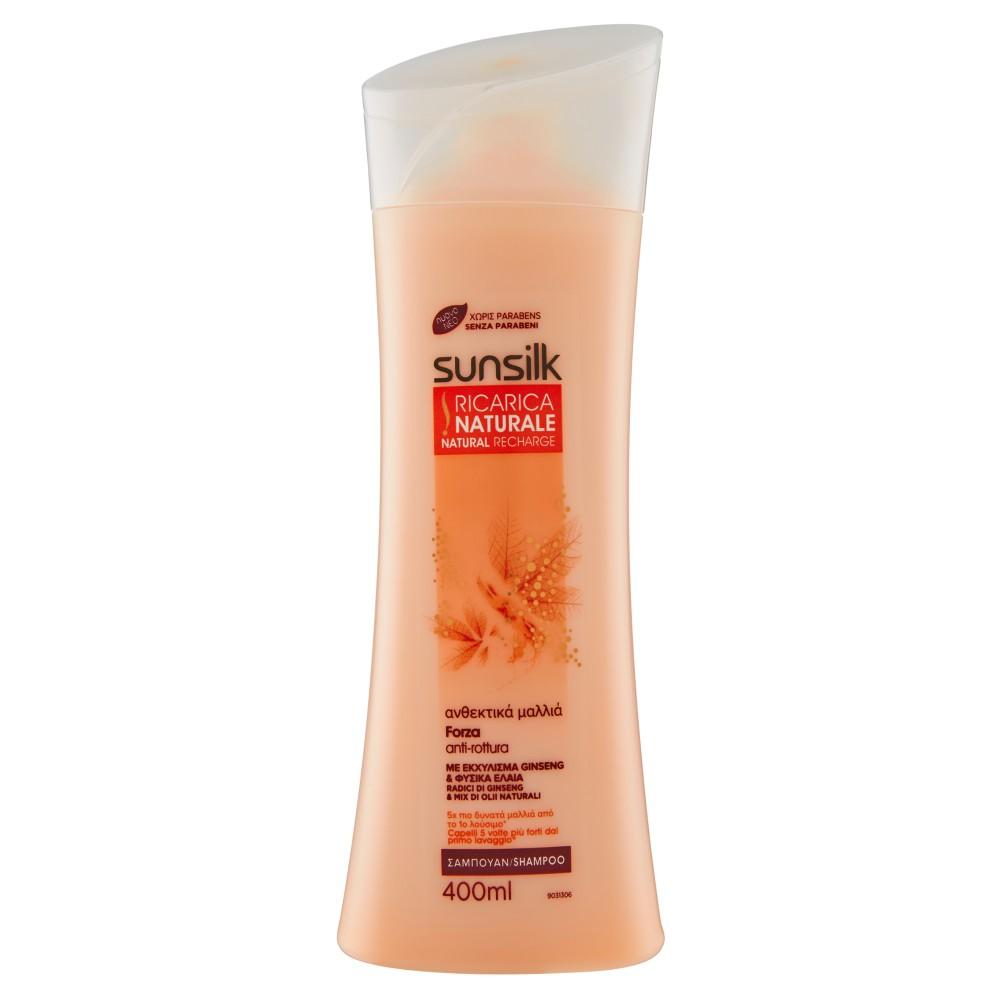 sunsilk Ricarica Naturale Shampoo Forza anti-rottura