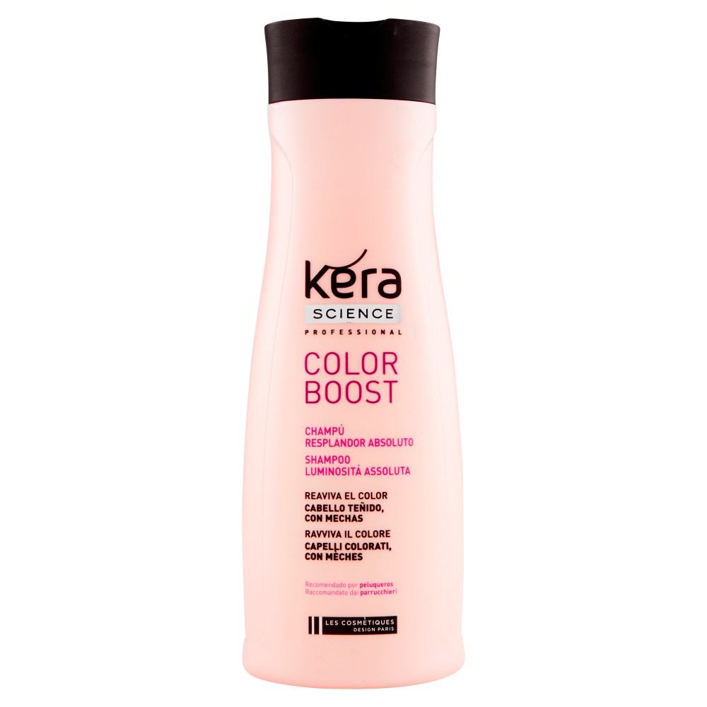 Kera Science Professional Color Boost Shampoo Luminosità Assoluta