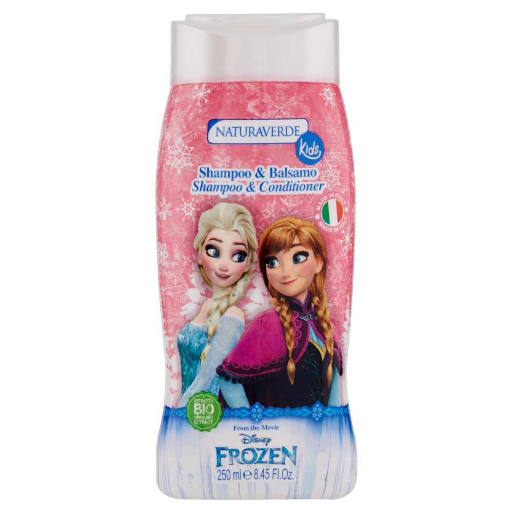 Naturaverde Kids Shampoo & Balsamo Disney Frozen
