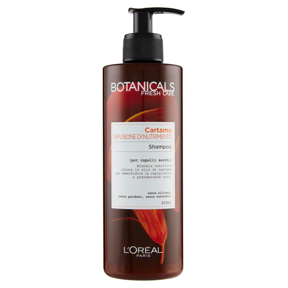 L'Oréal Paris Botanicals Cartamo Infusione di Nutrimento - Shampoo per capelli secchi