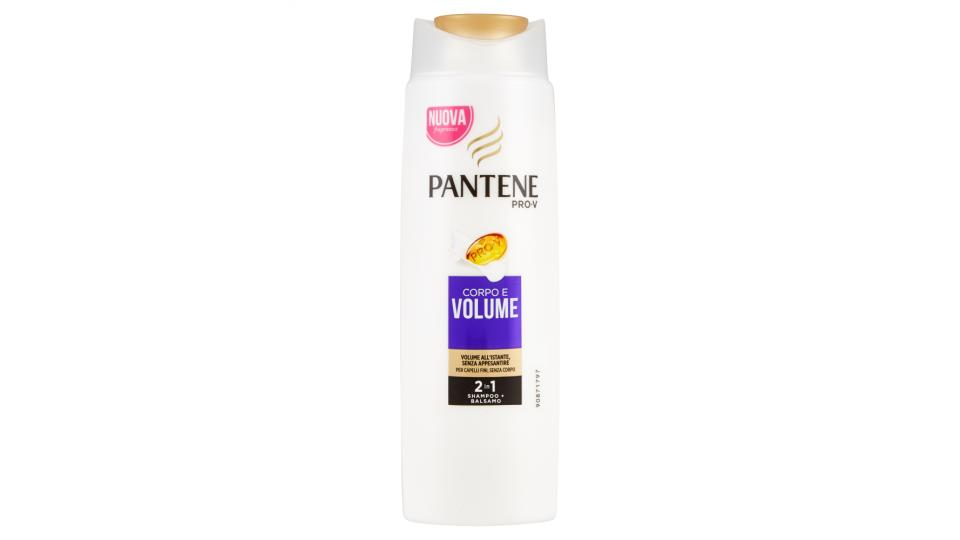 Pantene Shampoo 2in1 Corpo & Volume