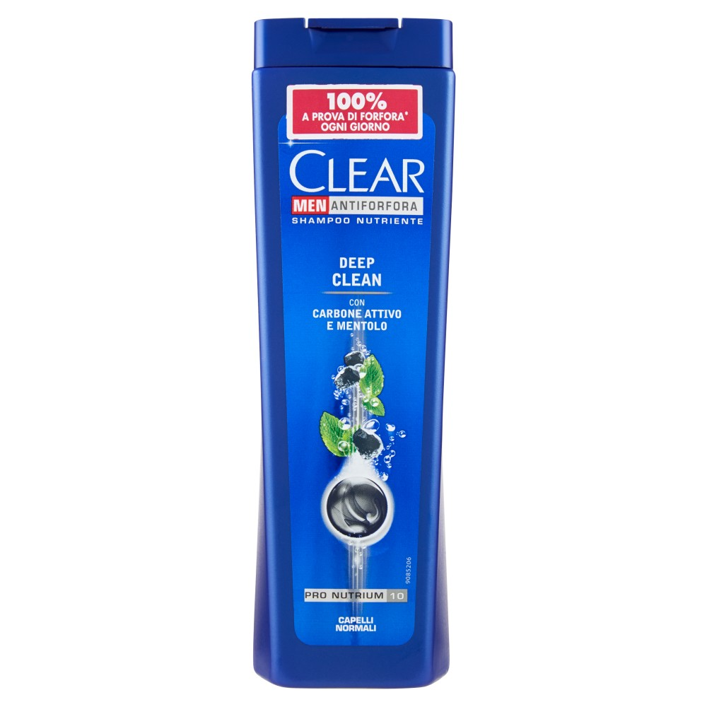 Clear Men Antiforfora Deep Clean Capelli Normali