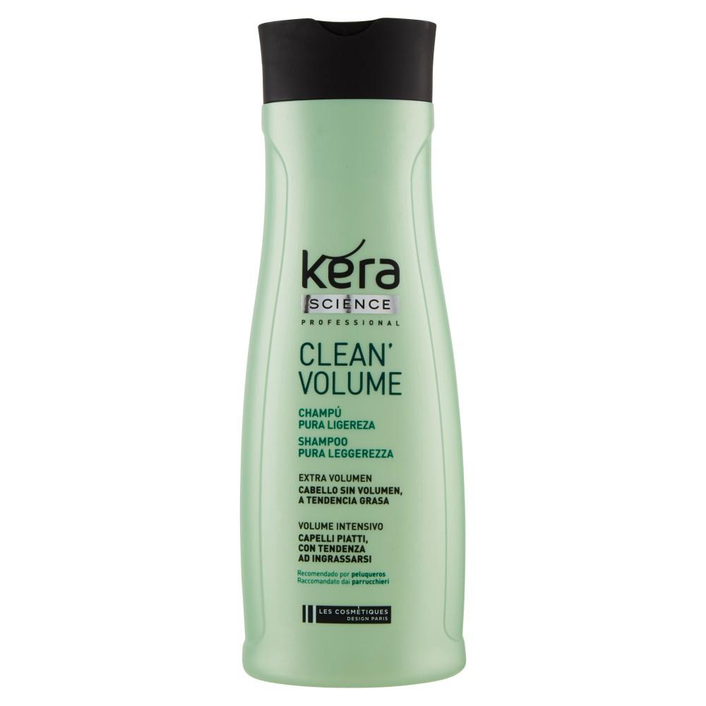 Kera Science Professional Clean Volume Shampoo Pura Leggerezza