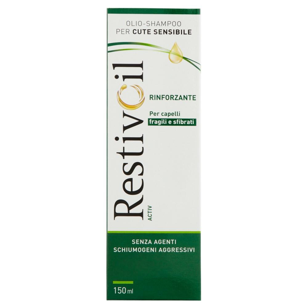 RestivOil Activ olio-shampoo per cute sensibile per capelli fragili e sfibrati