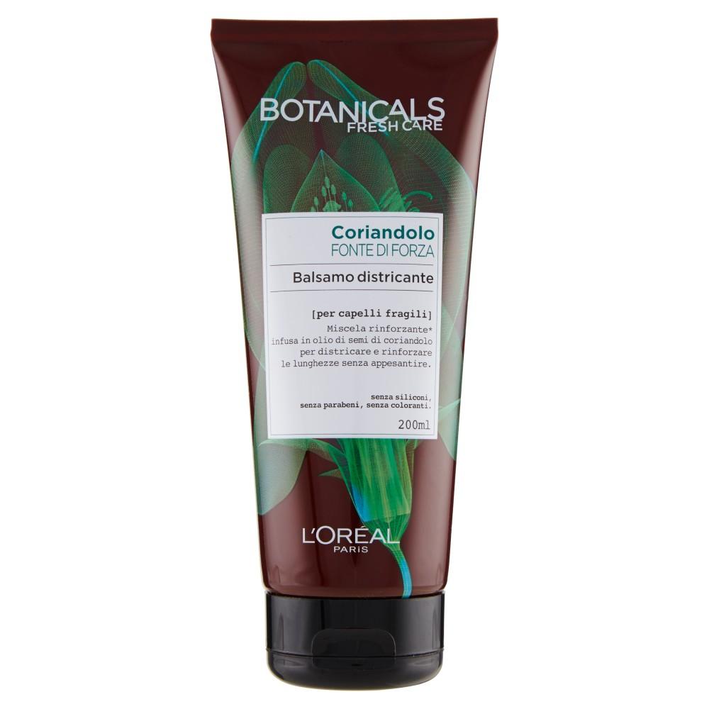 L'Oréal Paris Botanicals Coriandolo Fonte di Forza - Balsamo districante per capelli fragili