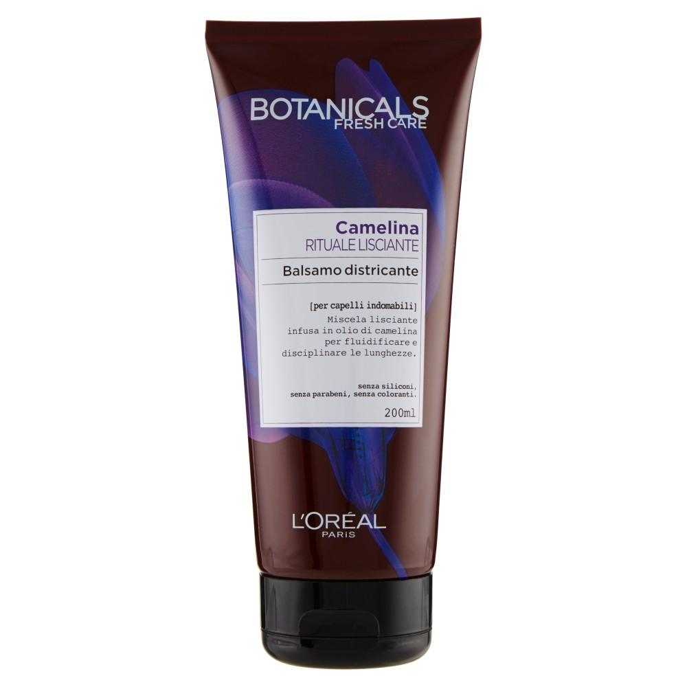L'Oréal Paris Botanicals Camelina Rituale Lisciante -  Balsamo per capelli indomabili