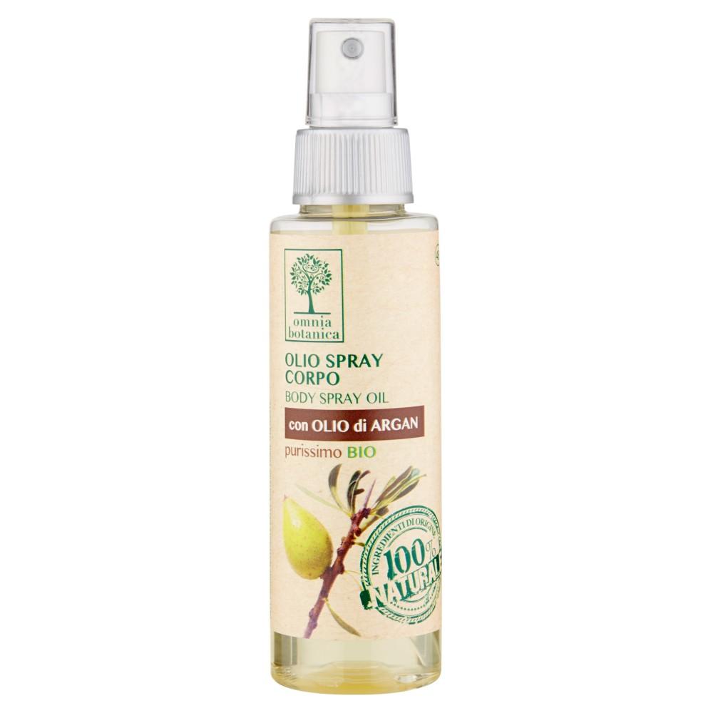 Omnia Botanica Olio Spray Corpo con Olio di Argan purissimo bio