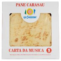 Qui Sardegna Pane Carasau Carta da Musica