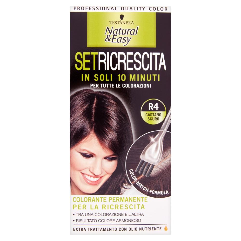 Testanera Natural&Easy SetRicrescita R4 castano scuro
