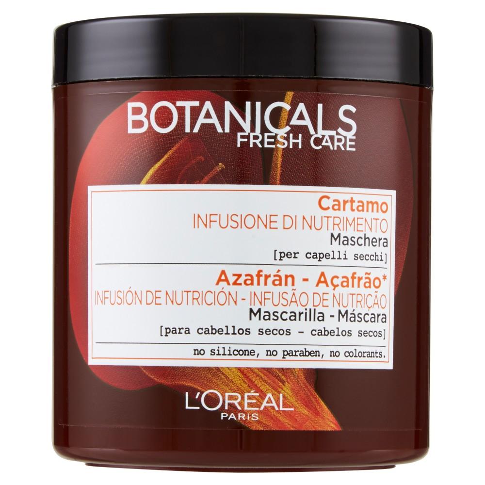 Botanicals Cartamo Infusione di Nutrimento - Maschera per capelli secchi