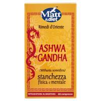 Matt&diet Rimedi d'Oriente Ashwa Gandha 60 compresse