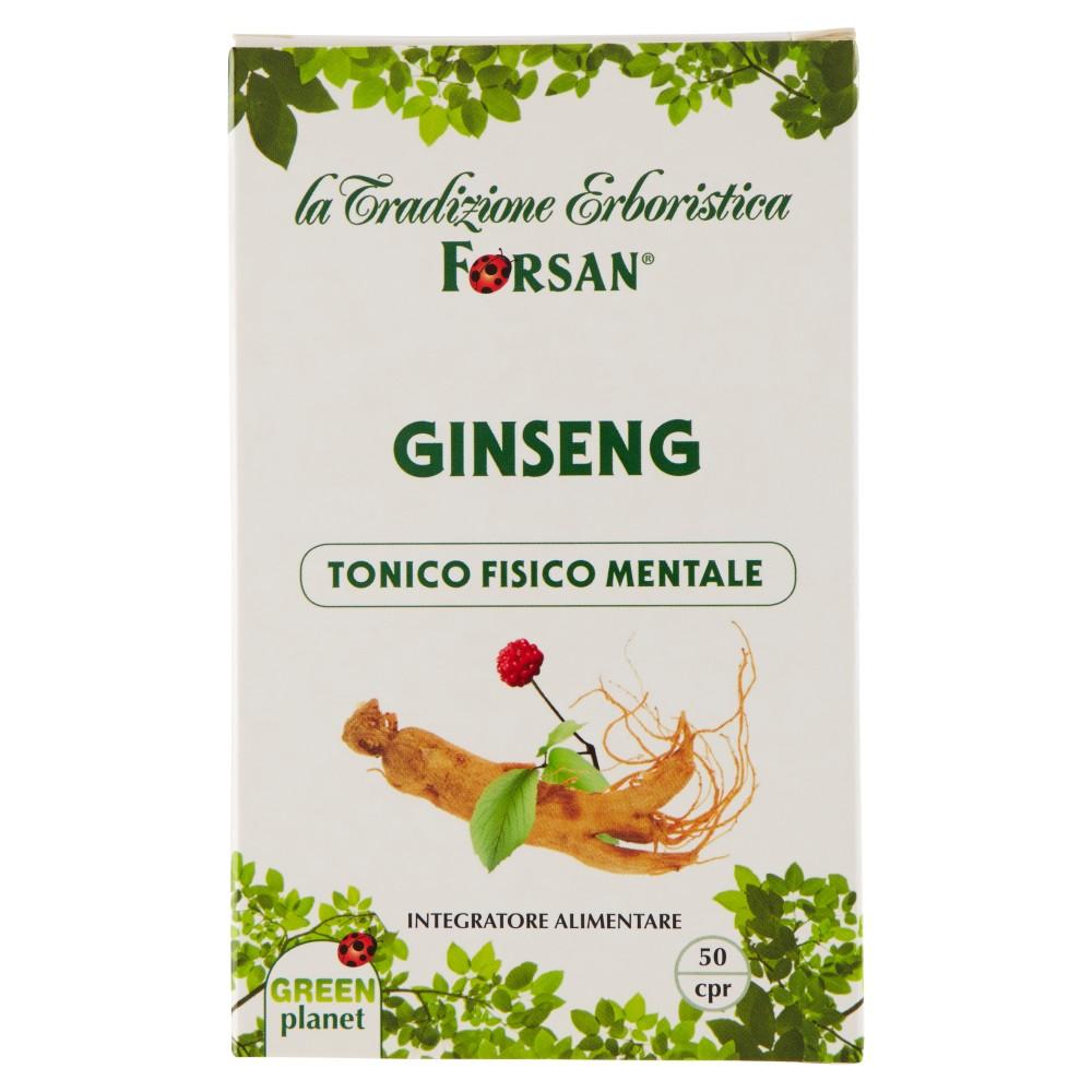 Forsan Ginseng 50 cpr