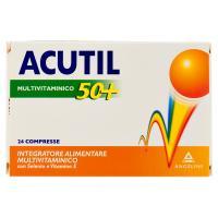 Acutil Multivitaminico 50+ 24 Compresse