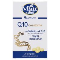 Matt&diet Benessere Q10 coenzima con Selenio e vit C+E 30 compresse