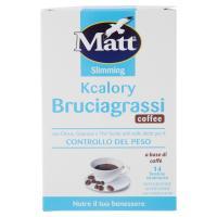 Matt&diet Kcalory Bruciagrassi coffee 14 bustine istantanee