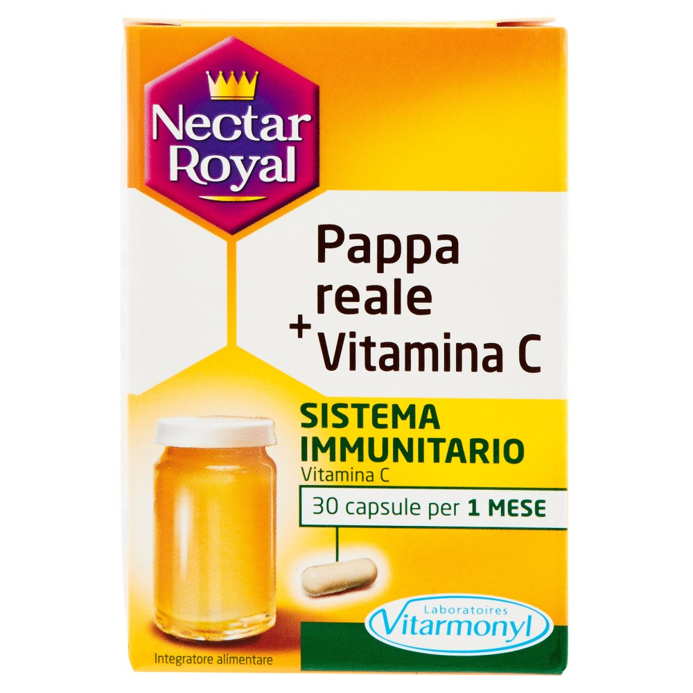 Nectar Royal Pappa reale + Vitamina C 30 capsule: