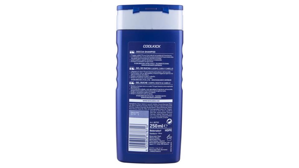 Nivea Men Coolkick doccia shampoo
